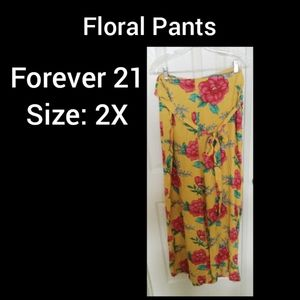 Forever 21 Size 2X Pocket Pants